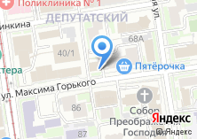 Компания «Горько» на карте