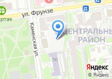 Компания «Экосервис-Новосибирск» на карте