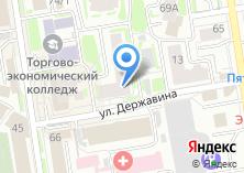 Компания «Ассоциация Сибирских Церквей Христиан Веры Евангельской» на карте