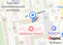 Компания «Главновосибирскстрой» на карте
