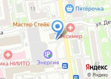 Компания «Автомойка на ул. Семьи Шамшиных» на карте