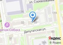 Компания «3D intero» на карте