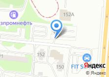 Компания «Автостоянка на ул. Петухова» на карте