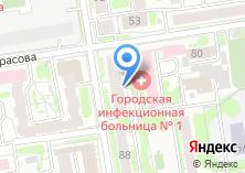 Компания «Участковый пункт полиции Отдел полиции №1 Центральный» на карте