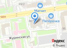 Компания «АМП» на карте
