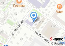 Компания «Новосибирская учебная мастерская» на карте