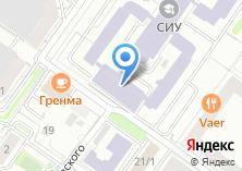 Компания «Сибирский институт управления» на карте