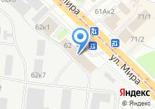 Компания «Ореол-Принт» на карте