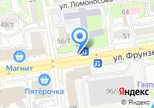 Компания «Подорожник» на карте