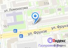 Компания «Регионстройсервис» на карте