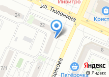 Компания «ОКЕАН ДВЕРЕЙ» на карте