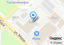 Компания «Индортех» на карте