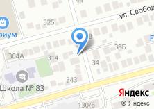 Компания «StartGame» на карте