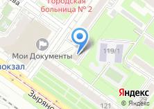 Компания «Автопрокат авангард» на карте