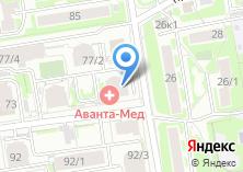 Компания «Все о Новостройках» на карте