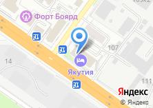 Компания «Альбакор Сибирь» на карте