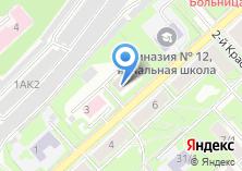 Компания «Центральная аварийно-диспетчерская служба Калининского района» на карте
