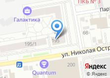 Компания «Амадеус» на карте