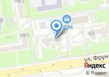 Компания «Синеглазка» на карте