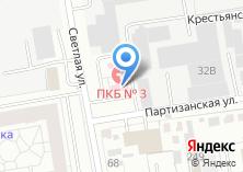 Компания «Государственная Новосибирская клиническая психиатрическая больница №3» на карте