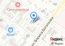 Компания «Алтай Туристик» на карте
