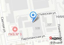 Компания «СтройФронт» на карте