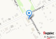 Компания «Продовольственный магазин на Центральной» на карте