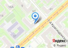 Компания «Калибр» на карте