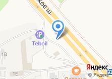 Компания «Ангарский пиломатериал» на карте