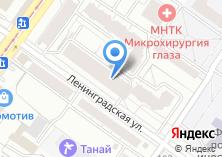 Компания «ХостНск» на карте