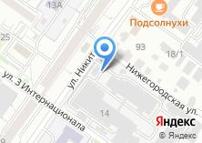Компания «Новосибирская» на карте