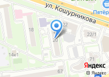 Компания «Новосибирское региональное отделение Федерации Современного Мечевого Боя России» на карте