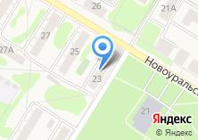 Компания «Сибград» на карте