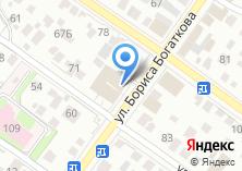 Компания «Продуктовый магазин на ул. Бориса Богаткова» на карте