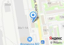 Компания «Сибирская вышивальная фабрика» на карте