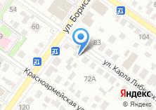 Компания «Автотехнологии нск» на карте