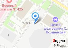 Компания «КОМАНДИР» на карте