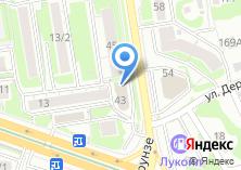 Компания «Атаx-Новосибирск» на карте