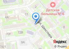 Компания «Теплодом154» на карте