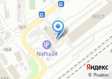 Компания «АВТОЛЮБИТЕЛЬ54» на карте