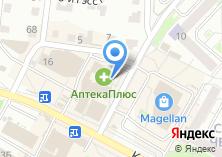 Компания «Новая планета» на карте