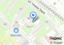 Компания «Учет» на карте