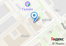 Компания «ТехноБетон» на карте
