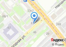 Компания «Кухни России» на карте