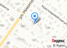 Компания «Шиномонтажная мастерская на ул. Далидовича» на карте