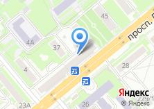 Компания «Продовольственный магазин на проспекте Дзержинского» на карте