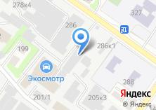 Компания «Тпк54» на карте