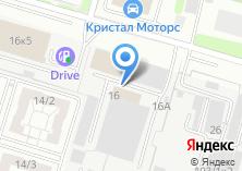 Компания «Газомоторный Новосибирск» на карте
