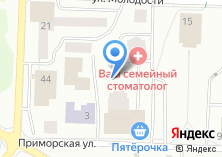 Компания «ДОМ НА ПРИМОРСКОЙ» на карте