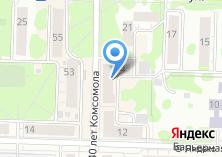Компания «Магазин мясной продукции на ул. 40 лет Комсомола» на карте